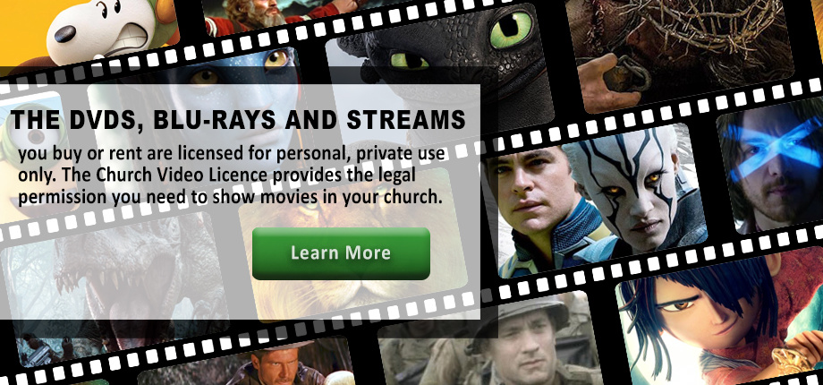 Church Video Licence Learn More
